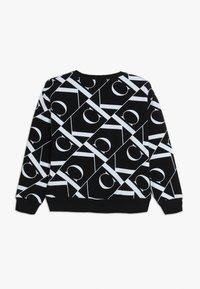 Calvin Klein Jeans - MIRROR MONOGRAM  - Sweatshirt - black - 1