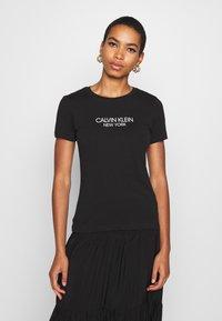 Calvin Klein - 2 PACK - Triko spotiskem - black/white - 2