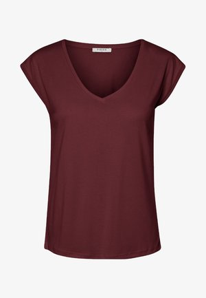 PCKAMALA - T-shirt - bas - dark red