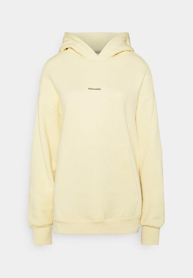 REGULAR HOODIE - Sweater - yellow