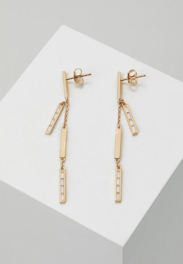 BAGUETTES - Örhänge - rose gold-coloured