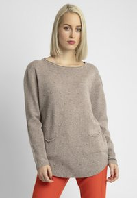 Apart - Pullover - taupe - 0