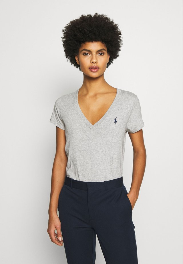 T-shirt basic - cobblestone heather