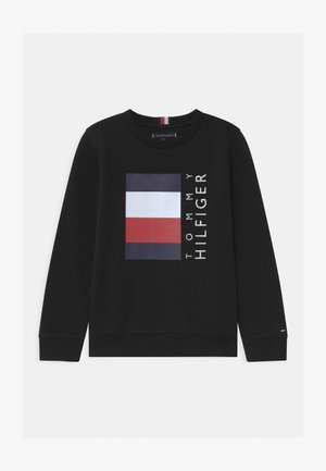 GLOBAL STRIPE - Sweatshirt - black