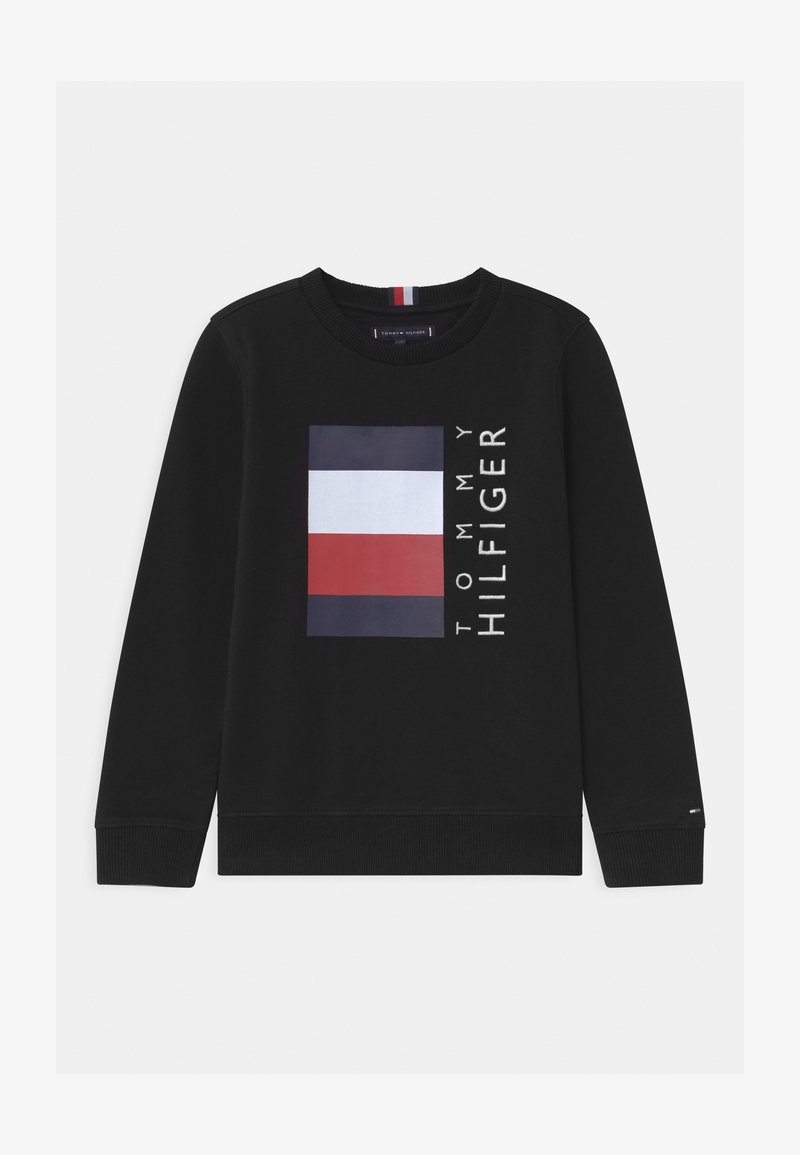 Tommy Hilfiger - GLOBAL STRIPE - Sweatshirt - black