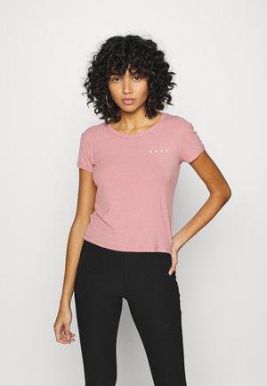 FROZEN DAY - Camiseta básica - ash rose