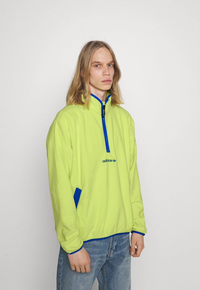 Fleece jumper - semi frozen yellow