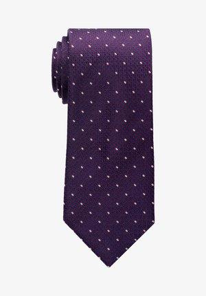 Tie - bordeaux/blau