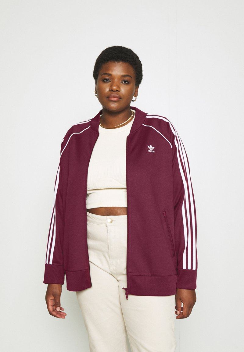adidas Originals - TRACKTOP - Training jacket - victory crimson