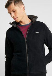 Ragwear - TRAYNE - Fleece jacket - black - 3