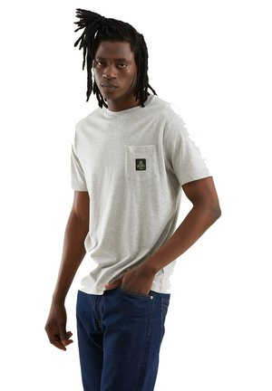 PIERCE PER UOMO - Basic T-shirt - grigio melange medio