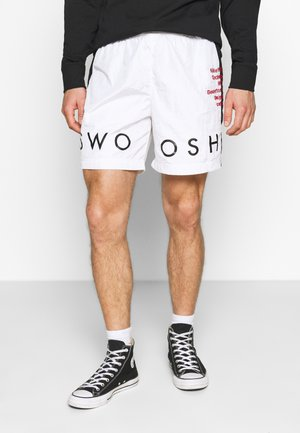 Shorts - white/black/university red