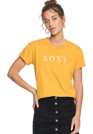 EPIC AFTERNOON WORD - T-shirt print - mineral yellow
