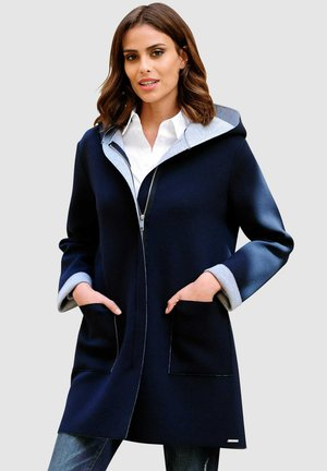 Classic coat - marineblau,grau