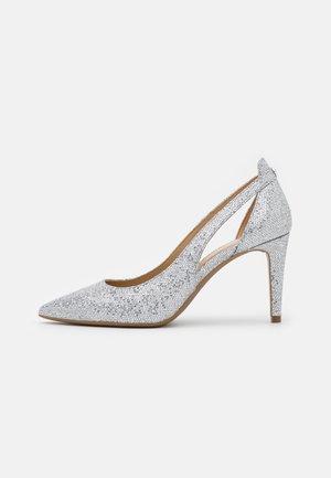 CERSEI FLEX MID - Classic heels - silver