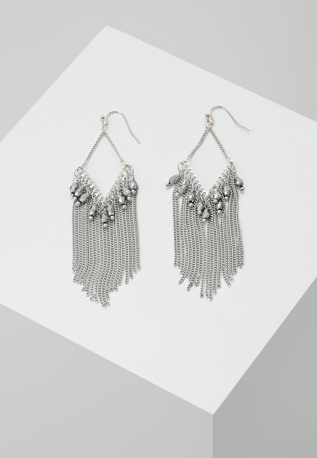 Earrings - silver-coloured/grey