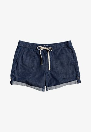 MILADY  - Denim shorts - dark indigo