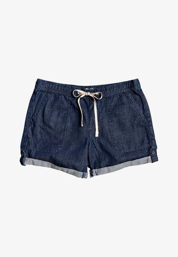 MILADY  - Denim shorts - dark indigo