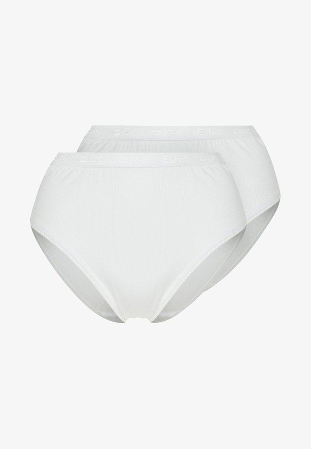 2 PACK - Briefs - blanc