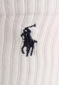 Polo Ralph Lauren - CREW 3 PACK - Socks - white - 1