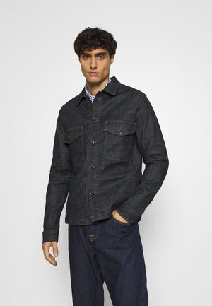 SLHJUDE - Kurtka jeansowa - dark blue denim