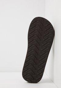 Reef - TRI WATERS - Sandály s odděleným palcem - grey/green - 4