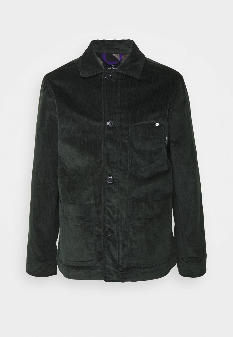 PS Paul Smith - MENS CHORE JACKET - Lehká bunda - dark green