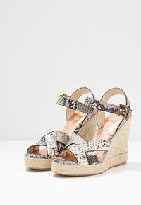 Ted Baker - SELANAE - Højhælede sandaletter / Højhælede sandaler - natural - 4