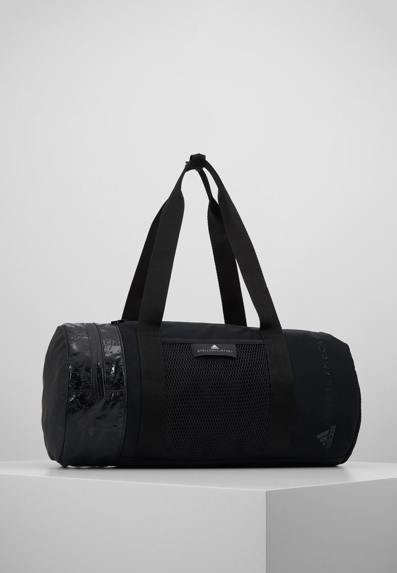 adidas by Stella McCartney - ROUND DUFFEL S - Treningsbag - black/black/white