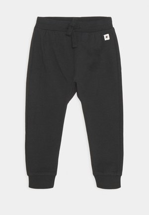 TROUSERS KOALA BEAR AT BACK UNISEX - Kalhoty - off black