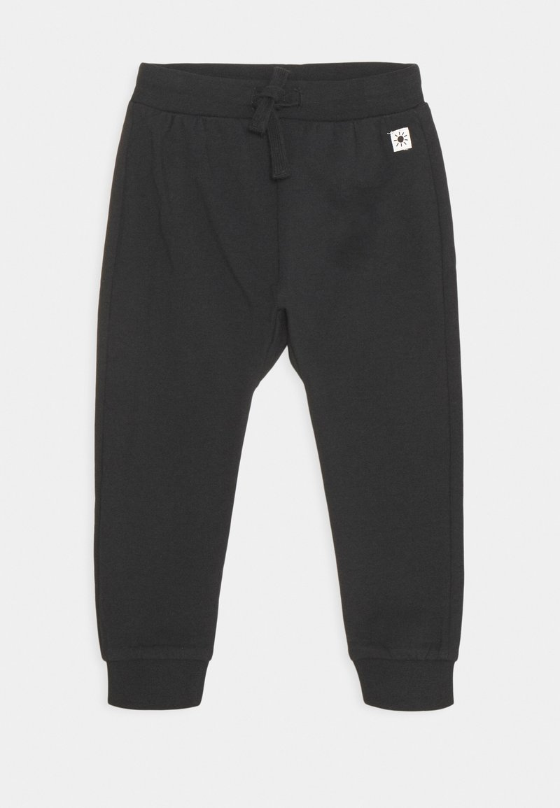 Lindex - TROUSERS KOALA BEAR AT BACK UNISEX - Trousers - off black
