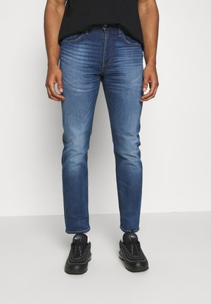 502™ TAPER - Jeansy Slim Fit - smoke stacked adv