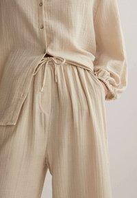 OYSHO - Trousers - beige - 3