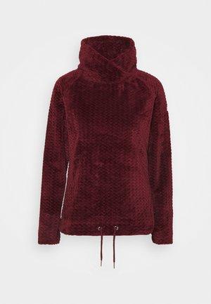 BETHAN - Fleece jumper - claret