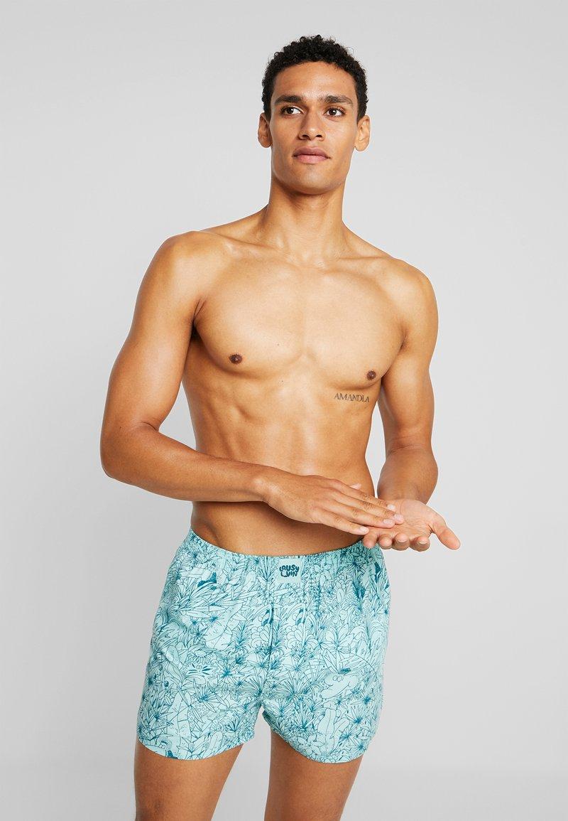 Lousy Livin Underwear - TROPICAL - Boxer - beach glass