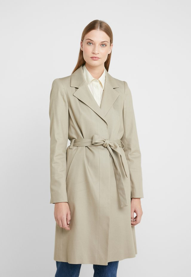 PLYMOUTH - Trench - beige