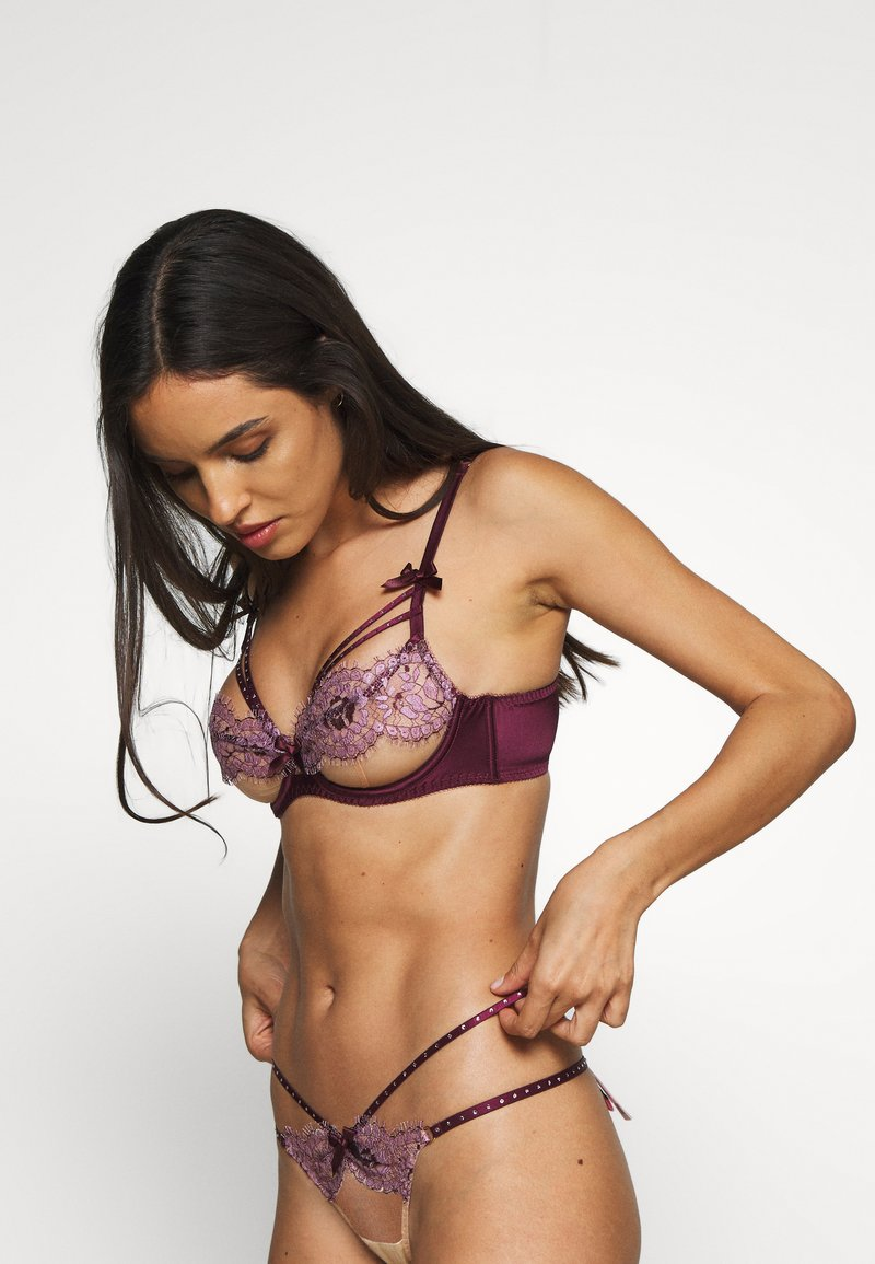 Agent Provocateur - AGNESE BRA - Underwired bra - pink/plum