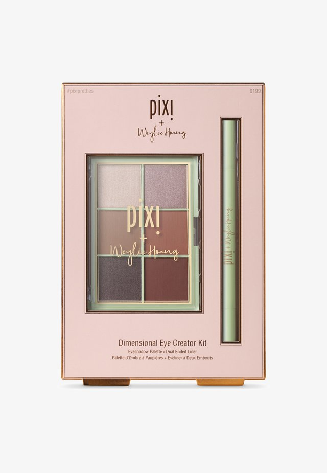 DIMENSIONAL EYE CREATOR KIT - Eyeshadow palette - let's talk eyes palette + black liner duo-weylie