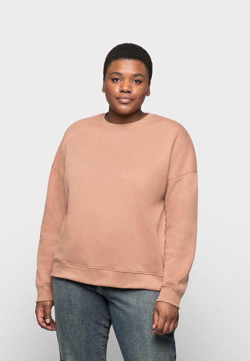 Missguided Plus - CREW NECK  - Sweatshirt - rose
