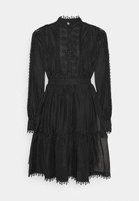 YAS - YASKEMSLEY DRESS - Skjortekjole - black - 0