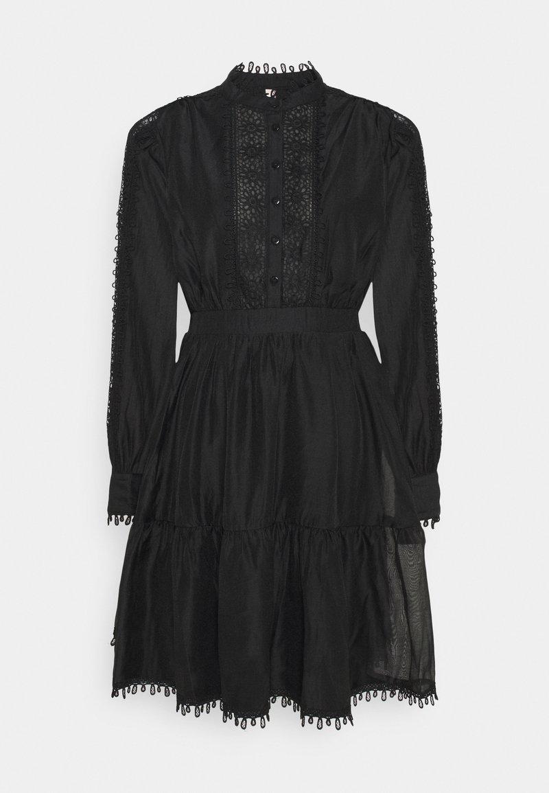 YAS - YASKEMSLEY DRESS - Skjortekjole - black