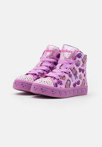 Skechers - TWI LITES - High-top trainers - pink/multicolor - 1