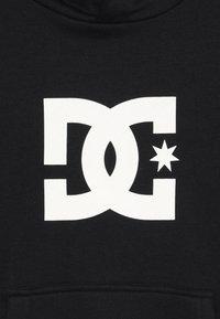 DC Shoes - STAR BOY - Hættetrøjer - black/white - 4
