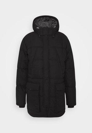 WOOD - Winter coat - black