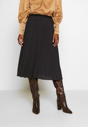 RONITA - A-snit nederdel/ A-formede nederdele - black