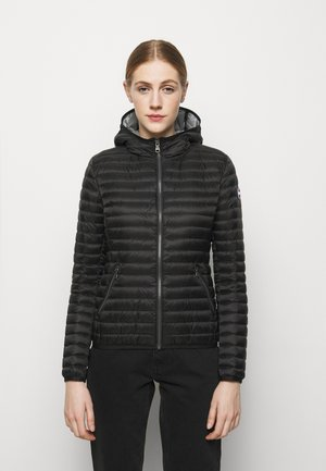 LADIES JACKET - Gewatteerde jas - black/light steel