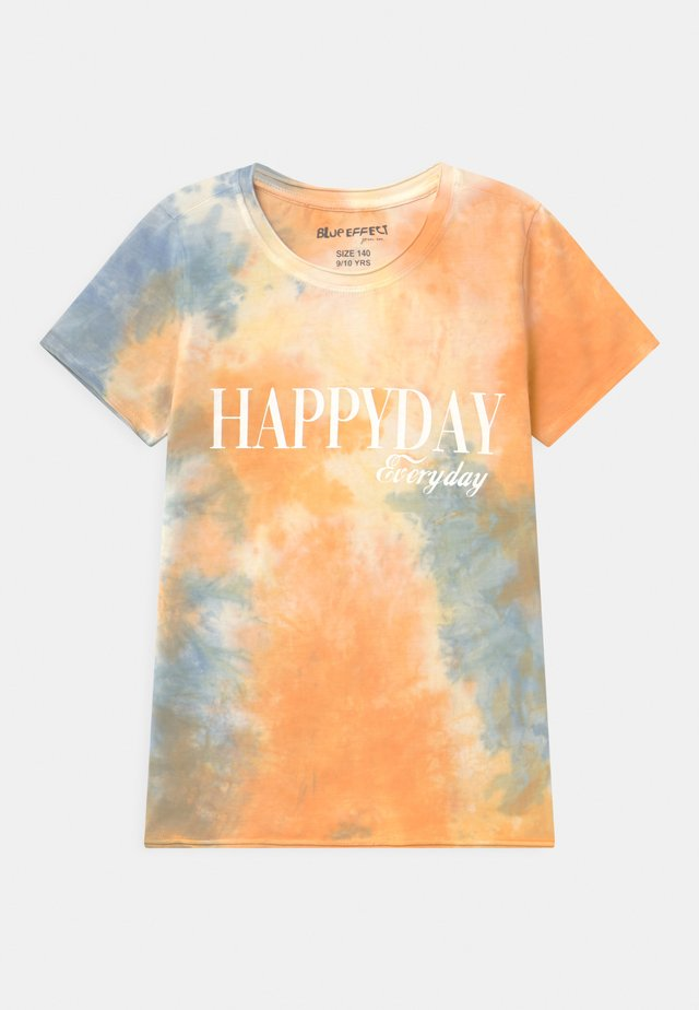 GIRLS HAPPYDAY - Print T-shirt - orange