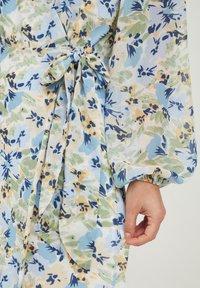ICHI - IXADILENE - Korte jurk - cashmere blue multi color - 4