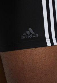 adidas Performance - FIT - Swimming trunks - black/white - 5