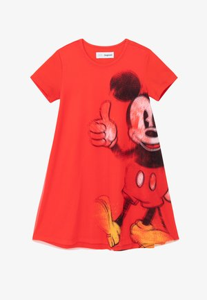 MICKEY - Day dress - red